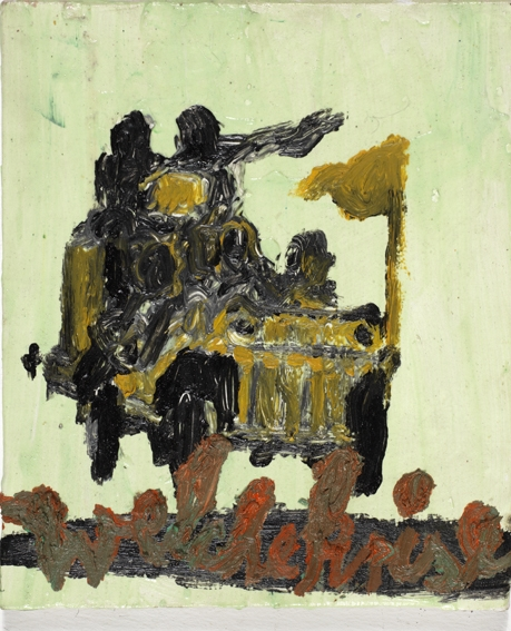 Acryl, Lack, Öl, 30*25cm, 2009