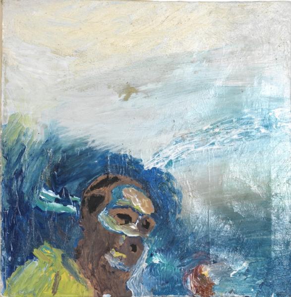 Acryl, Öl, 45*45cm, 2009