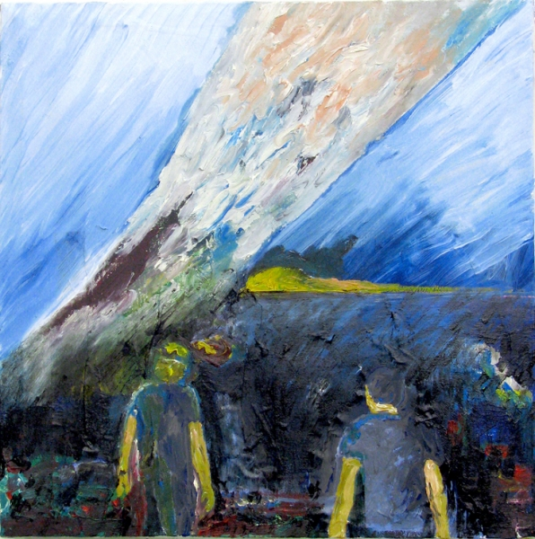 Acryl, Öl, 45*40cm, 2008
